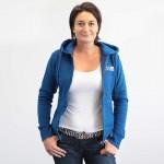 Hooded sweat jacket Women