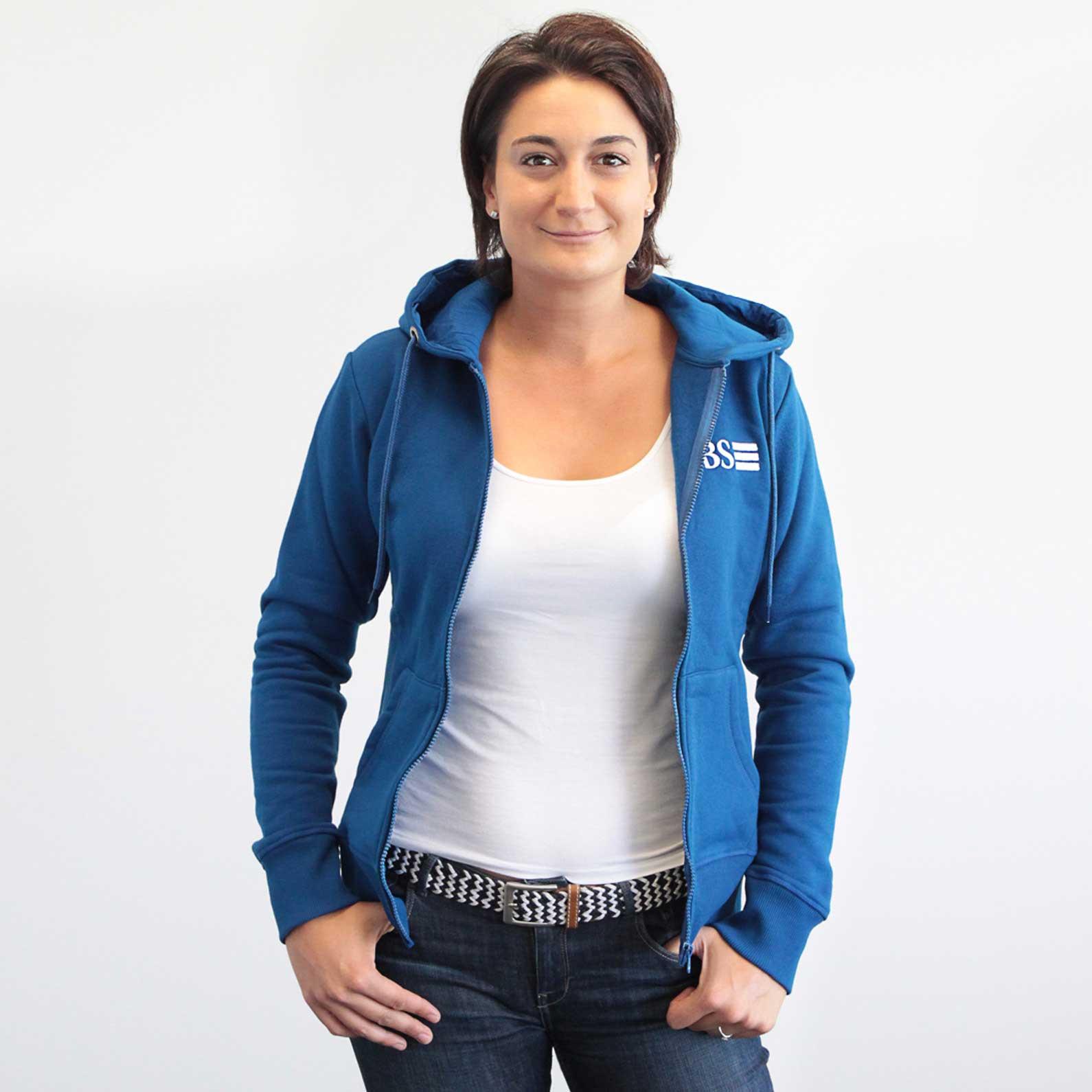 Hooded sweat jacket Women M